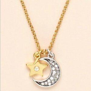 JUICY COUTURE ⭐️ Star Moon Wish Necklace NIB